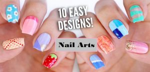 Designing Cutest Nail Arts for Beginners
