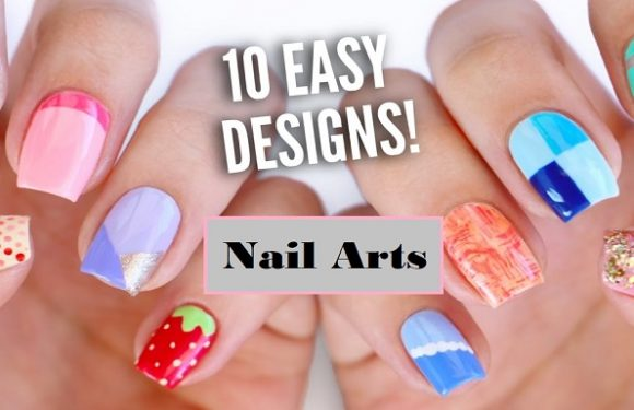 Designing Cutest Nail Arts of All Time