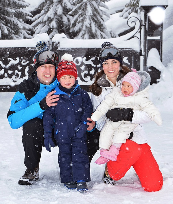 Princess Charlotte First Ski Trip