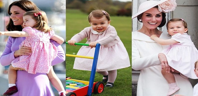 Princess Charlotte of Cambridge's Cutest Moment Photos