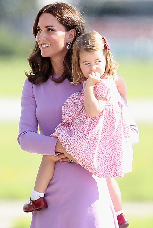 Princess Charlotte family departs