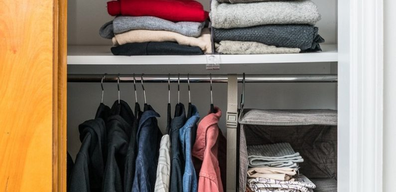 7 Things You Should Do For Clothing Rack with Shelves to Succeed